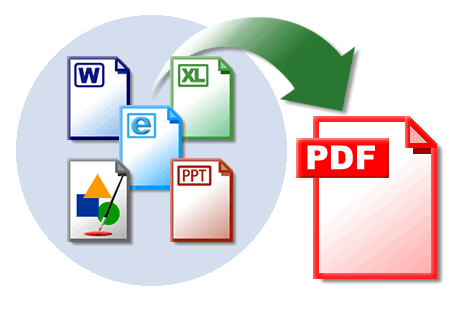 come convertire file in pdf